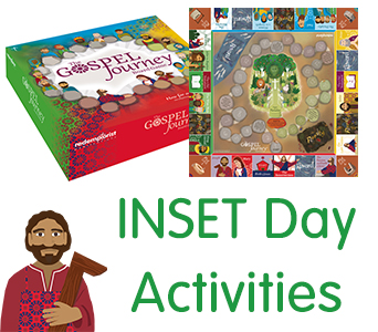 The Gospel Journey board game - INSET day activity idea