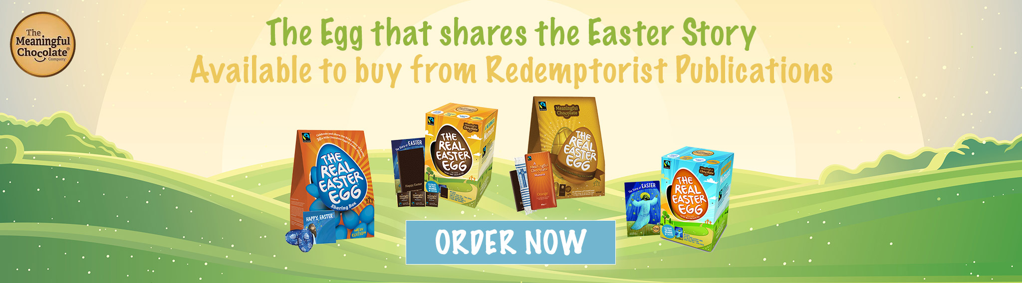 We're now an official distributor of The Real Easter Eggs