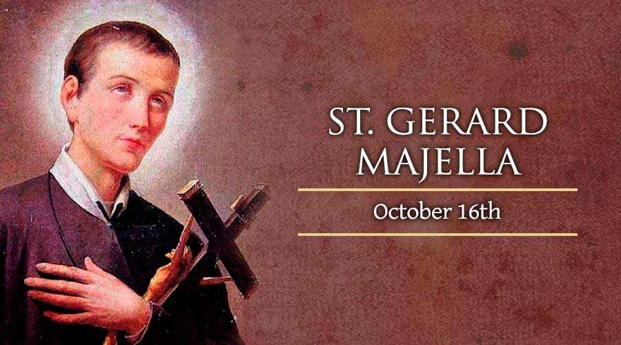 St Gerard Majella, the patron saint of mothers and babies