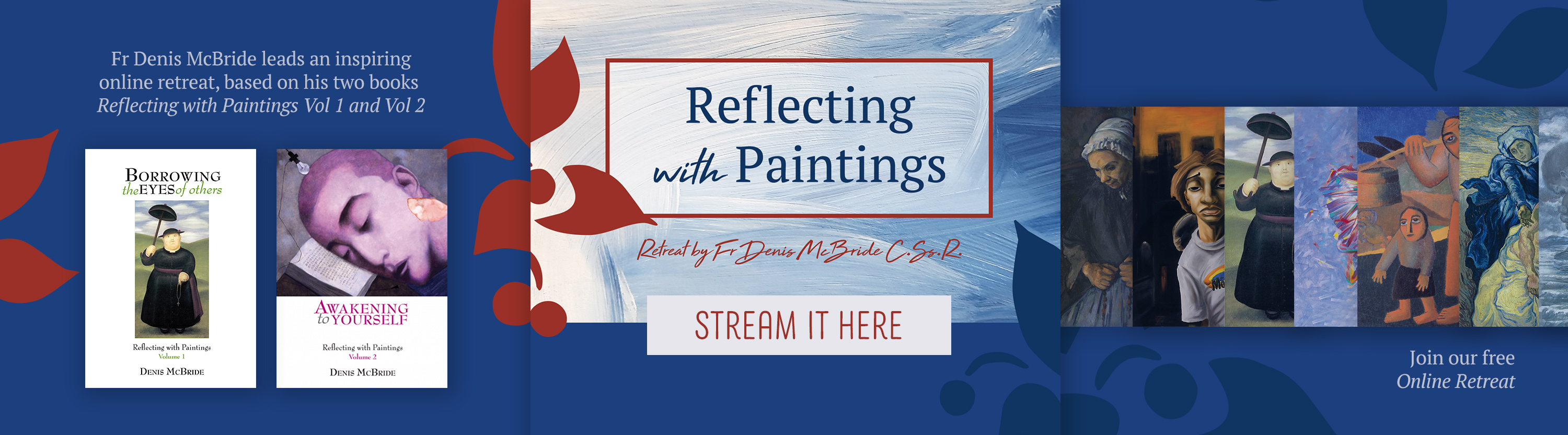 Lenten Retreat | Reflecting with Paintings