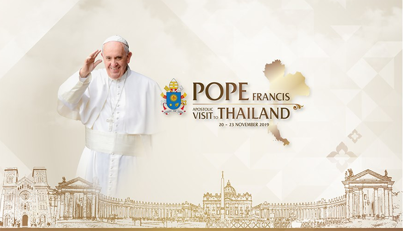 Pope Francis travels to Thailand and Japan